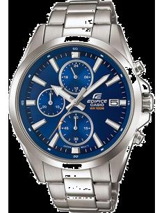 Chic Time | Montre Casio Edifice EFV-560D-2AVUEF Chronomètre cadran bleu  | Prix : 119,00€