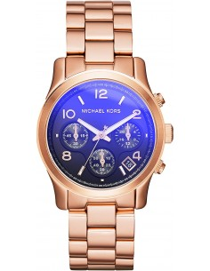 Chic Time | Montre Femme Michael Kors Runway MK5940 Cadran irisé bleu  | Prix : 209,30€