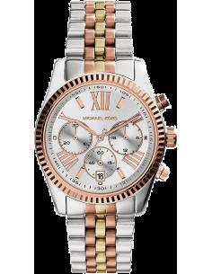 Chic Time   Montre Michael Kors Lexington MK5735 Bracelet 3 tons or/acier/or rose    Prix : 119,90€