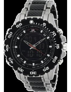 Chic Time | Montre Homme US Polo US8170 Analogique/Digitale Bracelet En Acier  | Prix : 49,90€