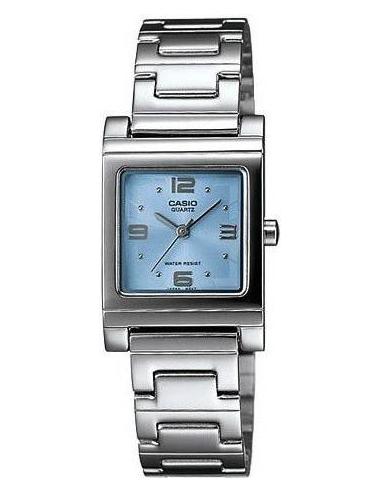 Chic Time   Montre Femme Casio LTP-1237D-2ADF Argent    Prix : 33,06€