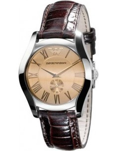 Chic Time | Montre Emporio Armani AR0646 Cuir Marron  | Prix : 223,20 €