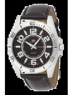 Chic Time | Montre Homme US Polo US5163EXL Bracelet En Cuir  | Prix : 49,90€