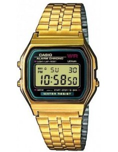 Chic Time | Montre Homme Casio Vintage A159WGEA-1EF Or  | Prix : 42,90 €