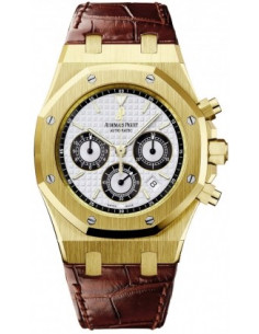 Chic Time | Montre Homme Audemars Piguet Royal Oak Chronograph 26022BA.OO.D098CR.01  | Prix : 21,930.00