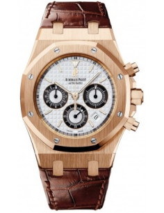 Chic Time | Montre Homme Audemars Piguet Royal Oak Chronograph 26022OR.OO.D098CR.01  | Prix : 22,602.00