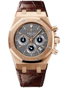 Chic Time | Montre Homme Audemars Piguet Royal Oak Chronograph 26022OR.OO.D098CR.02  | Prix : 22,602.00