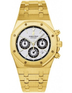 Chic Time | Montre Homme Audemars Piguet Royal Oak Chronograph 25960BA.OO.1185BA.02  | Prix : 27,594.00