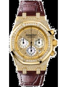 Chic Time | Montre Homme Audemars Piguet Royal Oak Chronograph 26068BA.ZZ.D088CR.01  | Prix : 53,022.00