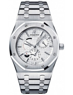 Chic Time | Montre Homme Audemars Piguet Royal Oak Dual Time 26120ST.OO.1220ST.01  | Prix : 11,382.00