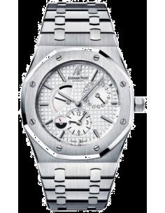 Chic Time | Montre Homme Audemars Piguet Royal Oak Dual Time 26120ST.OO.1220ST.01  | Prix : 11,382.00