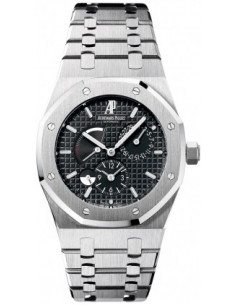 Chic Time | Montre Homme Audemars Piguet Royal Oak Dual Time 26120ST.OO.1220ST.03  | Prix : 11,382.00