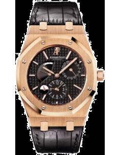 Chic Time | Montre Homme Audemars Piguet Royal Oak Dual Time 26120OR.OO.D002CR.01  | Prix : 19,200.00