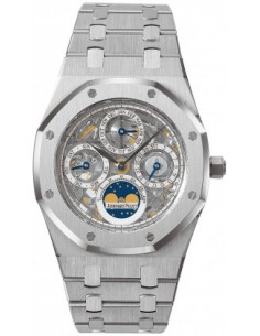Chic Time | Montre Homme Audemars Piguet Royal Oak Perpetual Calendar Skeleton 25829ST.OO.0944ST.01  | Prix : 51,078.00