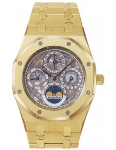 Chic Time | Montre Homme Audemars Piguet Royal Oak Perpetual Calendar Skeleton 25829BA.OO.0944BA.01  | Buy at best price