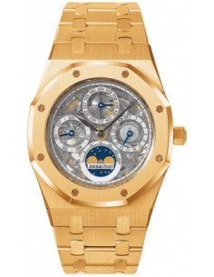 Chic Time | Montre Homme Audemars Piguet Royal Oak Perpetual Calendar Skeleton 25829OR.OO.0944OR.01  | Prix : 71,634.00