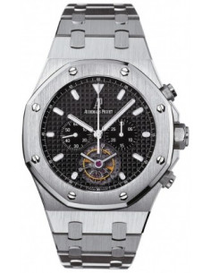 Chic Time | Montre Homme Audemars Piguet Royal Oak Tourbillon Chronograph 25977ST.OO.1205ST.02  | Prix : 123,654.00