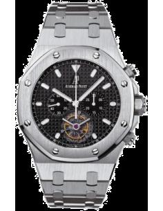 Chic Time | Montre Homme Audemars Piguet Royal Oak Tourbillon Chronograph 25977ST.OO.1205ST.02  | Prix : 123,654.00