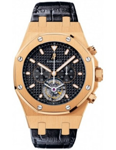 Chic Time | Montre Homme Audemars Piguet Royal Oak Tourbillon Chronograph 25977OR.OO.D002CR.01  | Prix : 140,910.00