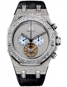 Chic Time | Montre Homme Audemars Piguet Royal Oak Tourbillon Chronograph 26116BC.ZZ.D002CR.01  | Prix : 232,992.00