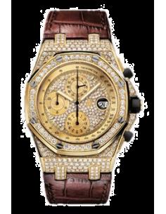 Chic Time | Montre Homme Audemars Piguet Royal Oak Offshore Chronograph 26067BA.ZZ.D088CR.01  | Prix : 64,242.00