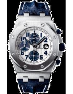 Chic Time   Montre Homme Audemars Piguet Royal Oak Offshore Chronograph Navy 26170ST.OO.D305CR.01    Prix : 13,830.00