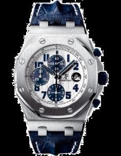 Chic Time | Montre Homme Audemars Piguet Royal Oak Offshore Chronograph Navy 26170ST.OO.D305CR.01  | Prix : 13,830.00