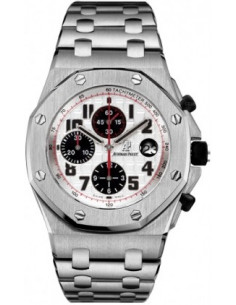 Chic Time | Montre Homme Audemars Piguet Royal Oak Offshore Chronograph 26170ST.OO.1000ST.01  | Prix : 14,748.00