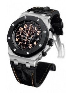 Chic Time | Montre Homme Audemars Piguet Royal Oak Offshore Chronograph 26298SK.OO.D101CR.01  | Prix : 22,152.00