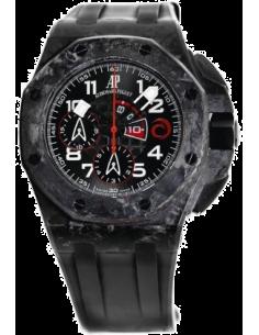 Chic Time | Montre Homme Audemars Piguet Royal Oak Offshore Chronograph Carbon Alinghi 26062FS.OO.A002CA.01  | Prix : 28,980.00