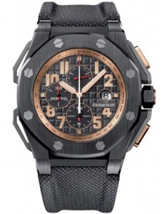 Chic Time | Montre Homme Audemars Piguet Royal Oak Offshore Chronograph Arnold Schwarzenegger The Legacy 26378IO.OO.A001KE.01...