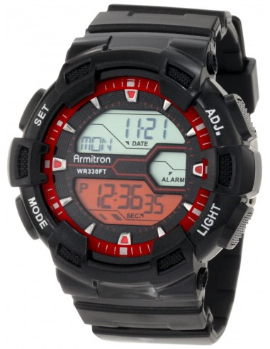Chic Time | Montre Homme Armitron 40/8246RED Oversized  | Prix : 44,90€