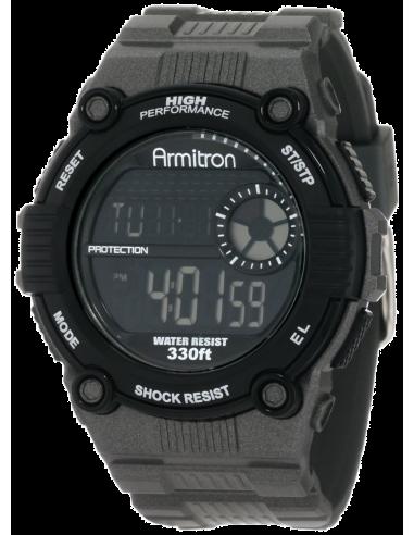 Chic Time   Montre Homme Armitron 408218GRY    Prix : 35,90€