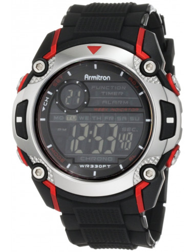 Chic Time   Montre Homme Armitron 408232RED Sport    Prix : 36,90€