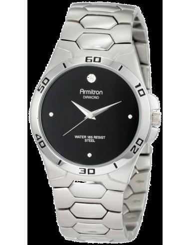 Chic Time | Montre Homme Armitron 204213BKSV Diamond  | Prix : 75,90€