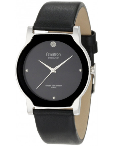 Chic Time   Montre Homme Armitron 204411BKSVBK Diamond    Prix : 66,90€
