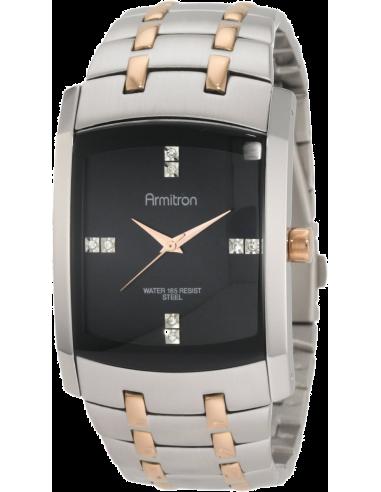 Chic Time | Montre Homme Armitron 20/4507BKRG Swarovski Crystal  | Prix : 125,90€