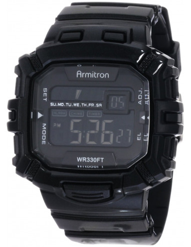 Chic Time   Armitron 40/8244BLK men's watch    Buy at best price