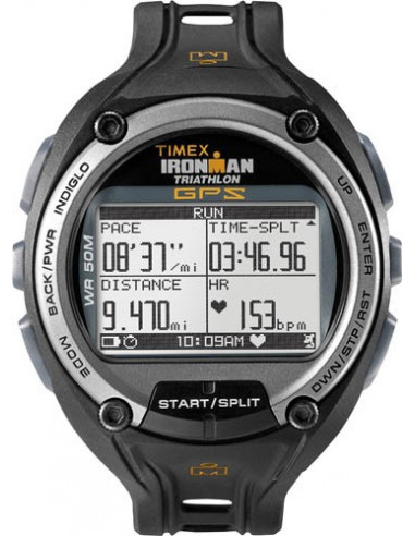 Chic Time | Montre Homme Sport Timex Ironman Run Trainer T5K267 GPS  | Prix : 249,90 €