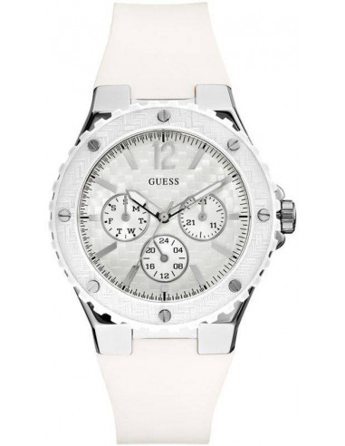 Chic Time   Montre Guess Femme Overdrive Blanche W90084L1    Prix : 159,00€