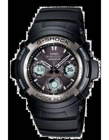 Chic Time | Montre Casio G-Shock DJ Steeler AWG-100-1AER  | Prix : 111,20€