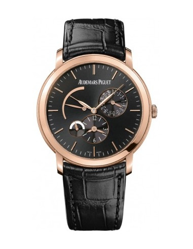 Chic Time | Montre Homme Audemars Piguet Jules Audemars Dual Time 26380OR.OO.D002CR.01  | Prix : 17,412.00