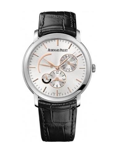 Chic Time | Montre Homme Audemars Piguet Jules Audemars Dual Time 26380BC.OO.D002CR.01  | Prix : 19,092.00