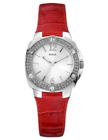 Chic Time | Montre Guess Femme Mini Tango Rouge W10214L2  | Prix : 169,00€