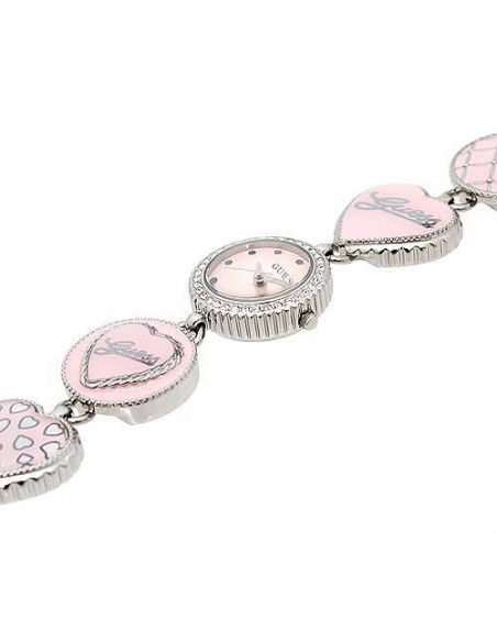Chic Time | Montre Guess Femme Sweet Iconic Hearts and Charms W85115L1  | Prix : 165,00€