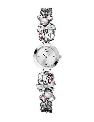 Chic Time   Montre Guess Femme Romance W11155L1 Bracelet Diamants    Prix : 205,00€