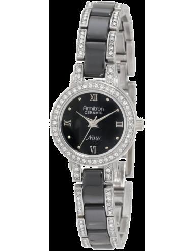 Chic Time | Montre Femme Armitron 753919BKSV Swarovski Crystal  | Prix : 96,90€