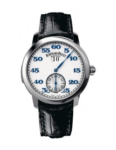 Chic Time | Montre Homme Audemars Piguet Jules Audemars Minute Repeater Jumping Hours 26151PT.OO.D028CR.01  | Prix : 171,798.00
