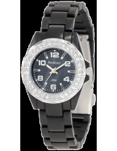Chic Time   Montre Femme Armitron 75/4077JMBK Swarovski Crystals    Prix : 149,90€