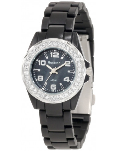 Chic Time | Montre Femme Armitron 75/4077JMBK Swarovski Crystals  | Prix : 149,90€